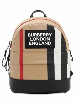 Рюкзак Из Кожи И Нейлона Burberry 70I1WM018-QTcwMjY1