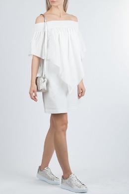 Белое платье с открытыми плечами Fabiana Filippi 2658162653