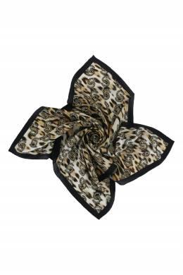 Платок с леопардовым принтом Roberto Cavalli 314163594
