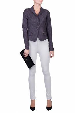 Узкие брюки серого цвета Patrizia Pepe 1748163523