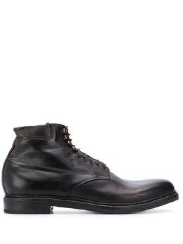 Dell'oglio ботинки на шнуровке 238RIDERTESTAMORO151999