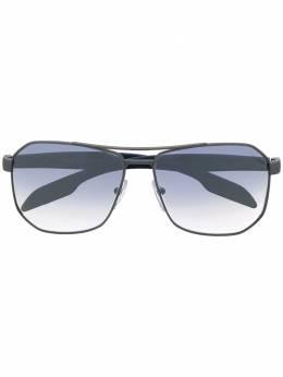 Prada Eyewear массивные солнцезащитные очки PS51VS