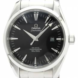 Omega Black Stainless Steel Speedmaster 2502.50 Men's Wristwatch 42MM 241590