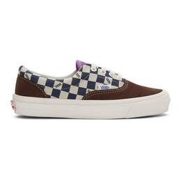 Vans Brown and Green OG Era LX Sneakers VN0A4BVATJ5