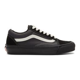 Vans Black and Grey OG Old Skool LX Sneakers VN0A4P3XTJ1