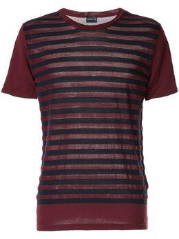Cerruti 1881 футболка в полоску с короткими рукавами C3367ER10076