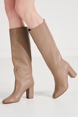 Высокие кожаные сапоги BOOGIE BOOT 85 Aquazzura 975163139