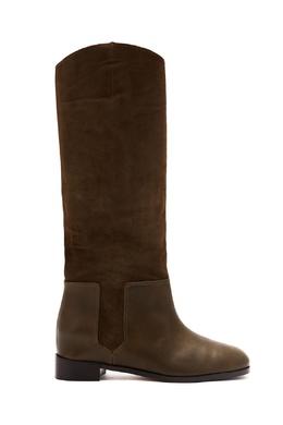 Зеленые сапоги Duke Ridding Boot Aquazzura 975163155