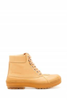 Бежевые высокие ботинки Les Meuniers Jacquemus 2985161703