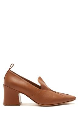 Туфли карамельного оттенка с отделкой Dries Van Noten 1525163948