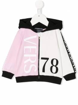 Young Versace худи на молнии с логотипом YA000074YA00077