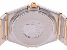 Omega Silver Yellow Gold and Stainless Steel Constellation Women's Wristwatch 31MM 239757