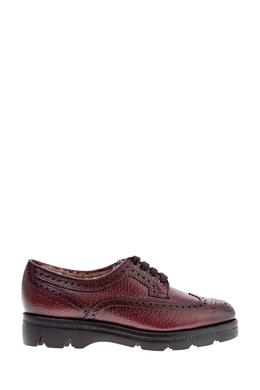 Ботинки с меховой подкладкой Santoni 1165162211