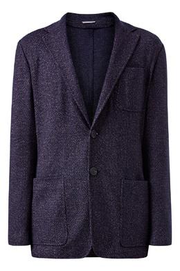 Пиджак с фактурным узором Canali 1793162338