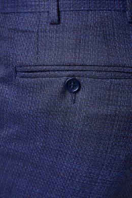 Синий костюм с мелким узором Canali 1793162268