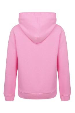 Розовая толстовка с капюшоном Calvin Klein Kids 2815163919