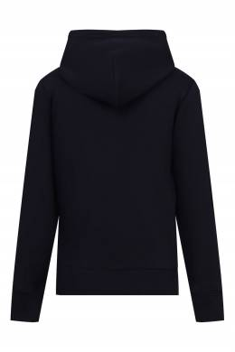 Черная толстовка с капюшоном Calvin Klein Kids 2815163903
