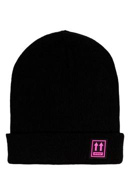 Черная шапка с логотипом Off-White 2202164469