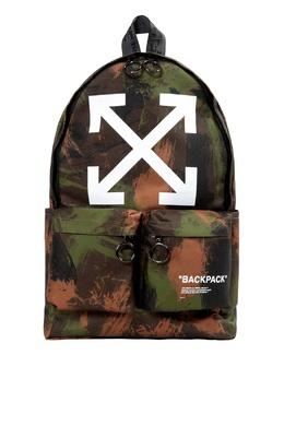 Рюкзак с камуфляжным принтом Off-White 2202164466