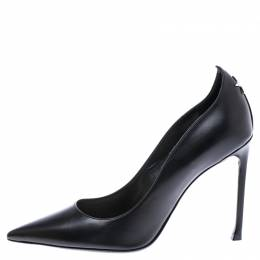 Dior Black Leather Nova Pointed Toe Pumps Size 41 242772