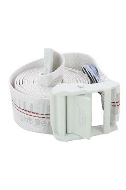 Белый текстильный ремень Off-White 2202165160
