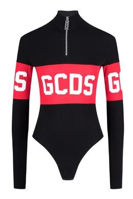 Черное боди с логотипом Gcds 2981165029