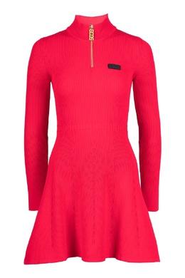 Красное вязаное платье Gcds 2981165020