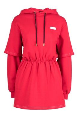 Красное платье с капюшоном Gcds 2981165034