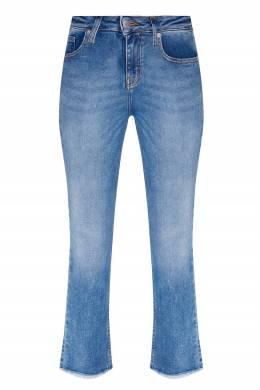 Синие джинсы с бахромой Maje 888164542