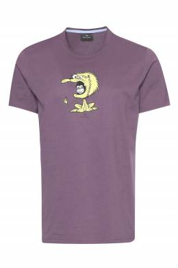 Фиолетовая футболка из хлопка Paul Smith 1924165203
