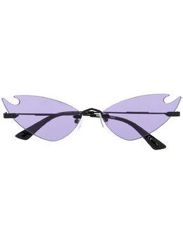MCQ by Alexander McQueen солнцезащитные очки в оправе 'кошачий глаз' MQ0222S