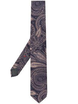 Dell'oglio галстук с принтом пейсли PITTSF2906