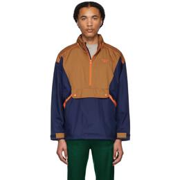 Reebok Classics Brown Classic Trail Jacket 192749M18000703GB