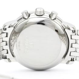 Omega Silver Stainless Steel De Ville Prestige 4840.31 Men's Wristwatch 36MM 242231