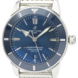 Breitling Blue Stainless Steel SuperOcean Heritage AB2030 Men's Wristwatch 44MM 242271