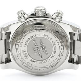 Breitling Blue Stainless Steel Avenger ll Chronograph A13381 Men's Wristwatch 44MM 242279