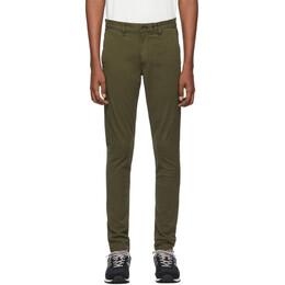 Rag&Bone Green Fit 1 Classic Chino Trousers 201055M19101004GB