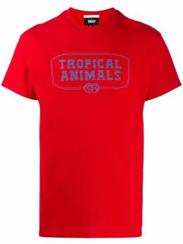 Societe Anonyme Tropical Animals-print T-shirt INGL2000TV