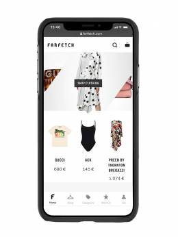 Palm Angels чехол для iPhone X с логотипом PMPA006E192750209188