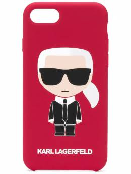 Karl Lagerfeld чехол Karl Ikonik для iPhone 8 KL19FKR8500