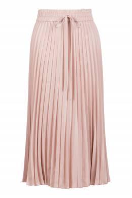 Нежно-розовая плиссированная юбка-миди Red Valentino 986165416