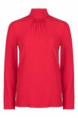 Красная блузка из шелка с отделкой Red Valentino 986165435