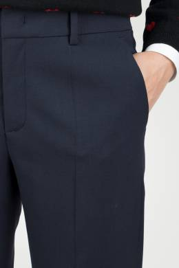 Темно-синие базовые брюки со стрелками Red Valentino 986165450