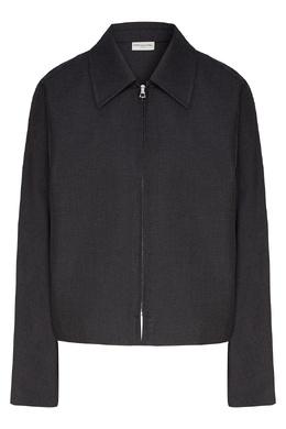 Короткая куртка серого цвета Dries Van Noten 1525163964