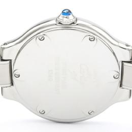 Cartier Silver Stainless Steel Must 21 W10109T2 Women's Wristwatch 21 MM 242424