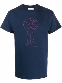 Societe Anonyme футболка с графичным принтом MENSLOGOTEE
