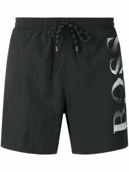 Boss Hugo Boss плавки-шорты с логотипом 50332324