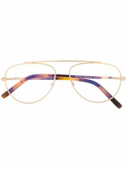 Tom Ford Eyewear aviator shaped glasses FT5622B