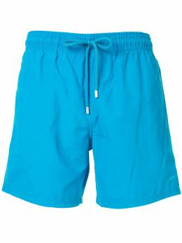 Vilebrequin плавки-шорты с вышивкой MOOH9D00398