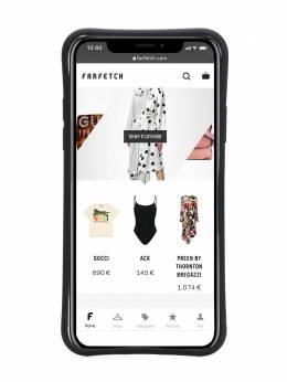 Palm Angels чехол для iPhone X с принтом PMPA006F192760021088